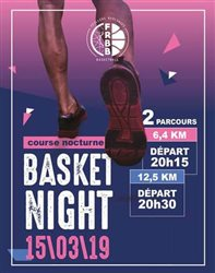 BASKET'NIGHT - 15/03/19